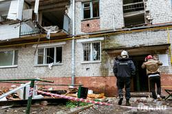 Взрыв на улице 50 лет ВЛКСМ. Тюмень, взрыв газа
