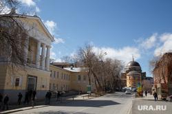 Реставрация на территории Новотихвинского монастыря. Екатеринбург, новотихвинский монастрь
