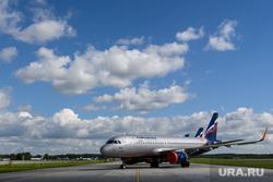 Авиапленэр в аэропорту Кольцово. Екатеринбург, авиакомпания аэрофлот, aeroflot