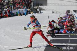 Чемпионат России по биатлону. Тюмень, биатлон, огневой рубеж
