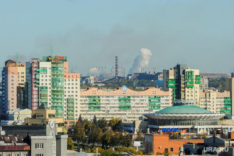 Смог, неблагоприятные метеоусловия. Челябинск