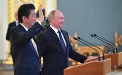 Путин, Абэ, путин владимир, абэ синдзо, абэ