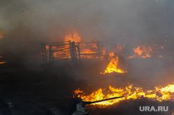 Пожар в промзоне на Троицком тракте. Челябинск, мчс, дым, пожар, чп, огонь, пожарные, чс