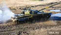 Танковый биатлон. Чебаркульский военный полигон. Челябинская область, оружие, танковый биатлон, т72-3б, армия, танк, танки грязи не боятся