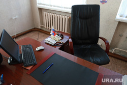 Визит врио губернатора Шумкова Вадима в Шатровский район., пустое кресло