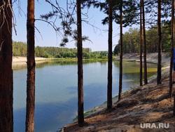 Закрытие пляжа Голубые озера. Курган , отпуск, лето, голубые озера, плавание, отдых, купание