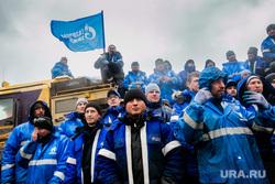 Рабочая поездка Дмитрия Кобылкина в Норильск. Норильск, спасатели, вахтовики, газпром нефть