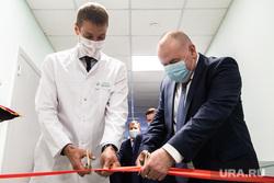 Открытие нового кабинета компьютерной томографии в областной детской клинической больнице. Екатеринбург, карлов андрей, аверьянов олег