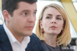 Встреча Дмитрия Артюхова с журналистами. Салехард, нестеренко олеся