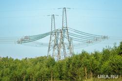 Автодорога М5. Челябинск, линия электропередач, лэп, опора, энергетика, электричество