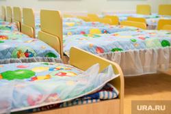 Торжественное открытие четвертого здания детского сада № 43 в микрорайоне Академический. Екатеринбург, детский сад, дошкольное учреждение, спальня, детский садик