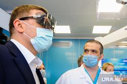 Поездка Алексея Текслера в областной центр онкологии и ядерной медицины. Челябинск, текслер алексей, центр онкологии и ядерной медицины