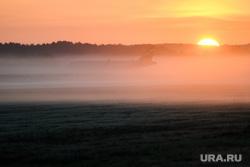 Споттинг в Кольцово. Екатеринбург, рассвет, самолет, туман