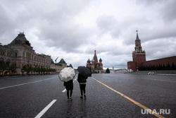 Москва во время объявленного режима самоизоляции. Москва, кремль, красная площадь, спасская башня, собор василия блаженного, покровский собор, москва