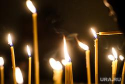 Празднование Терендеза в Церкви Святого Карапета. Екатеринбург, церковные свечи