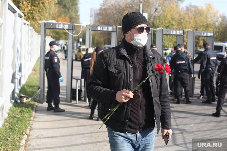 Прощание с Максимом Марцинкевичем. Москва