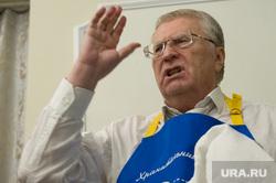 Кандидат в президенты России Владимир Жириновский в Екатеринбурге, портрет, жириновский владимир, жест рукой