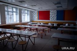 Подготовка в учебному сезону в МБОУ гимназия № 5. Екатеринбург, школа, школьная столовая