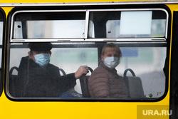 Екатеринбург во время пандемии коронавируса COVID-19, общественный транспорт, медицинская маска, защитная маска, маска на лицо, covid-19, covid19
