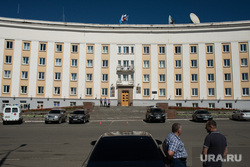 Рабочий визит ВРИО губернатора Свердловской области в Краснотурьинск, здание, администрация краснотурьинска