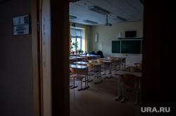 Подготовка в учебному сезону в МБОУ гимназия № 5. Екатеринбург, класс, школа, учебное заведение, аудитория, парты