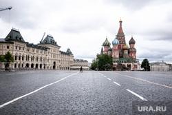 Москва во время объявленного режима самоизоляции. Москва, кремль, красная площадь, собор василия блаженного, покровский собор, москва