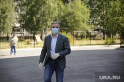 Александр Моор голосует за поправки в конституцию. Тюмень, моор александр