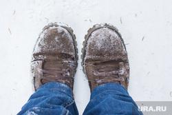 Клипарт. Ханты-Мансийск, снег, холод, зима, ноги, обувь