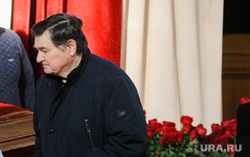 Похороны Вадима Соловьева, экс-губернатора Челябинской области. Челябинск, третьяков валерий