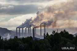 Клипарт. Челябинская область, трубы, ммк, дым, экология