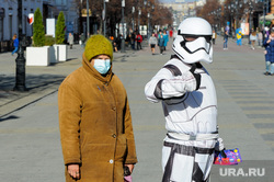 Масочный режим. Челябинск, звездные войны, сиз, маска медицинская, штурмовик