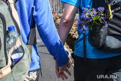 Майская прогулка 2018. Екатеринбург, отношения, держатся за руки, цветы, симпатия