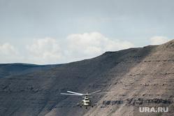 Учения горного мотострелкового соеденинения на полигоне Кара-Хаак. Республика Тыва, Кызыл, военный вертолет, военные учения, горная местность