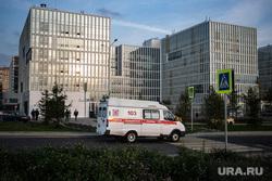 Скорая помощь в 40 ГКБ в Коммунарке. Москва, скорая помощь, санитары, врач, больница, коронавирус, covid, ковид, 40 гкб коммунарка, SARS-CoV-2
