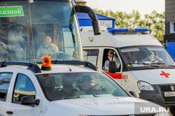В аэропорту Челябинска приземлился «Суперджет» с вахтовиками Чаяндинского месторождения Якутии. Челябинск, эпидемия, скорая помощь, врач, медики, инфекционист, инфекционист