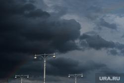 Виды Екатеринбурга, небо, туча, непогода, тучи, туча над городом, дождь