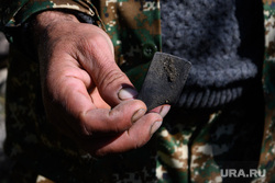 Деревня Кармир Шука после обстрела ВС Азербайджана. Нагорный Карабах, поражающий элемент, осколок, последствия обстрела