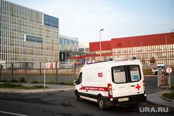 Скорая помощь в 40 ГКБ в Коммунарке. Москва, приемный покой, медики, скорая помощь, больница, коронавирус, covid, ковид