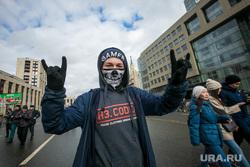 Митинг за свободу интернета в Москве. Москва, маска, протестант, протестующий, молодежь