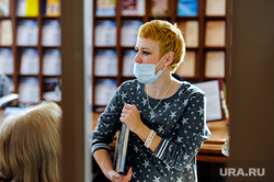 Публичная библиотека. Челябинск, библиотека, маска медицинская