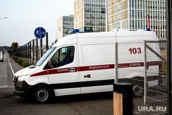 Приемный покой в 40 ГКБ в Коммунарке. Москва, приемный покой, медики, скорая помощь, больница