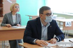 Алексей Текслер сдал пробный ЕГЭ по истории. Челябинск, текслер алексей, гехт ирина