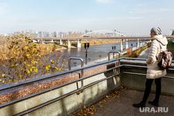 Виды города, осень. Тюмень, набережная