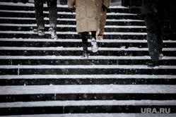 Снегопад в Екатеринбурге, снег, зима, ноги, снегопад