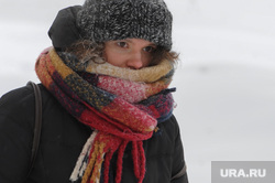 Мороз. Зима. Погода. Климат. Челябинск, снег, девушка, зима, шарф, климат, мороз, снегопад, погода, холод