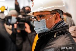 Поездка Алексея Текслера на строительство инфекционной больницы. Челябинск, текслер алексей