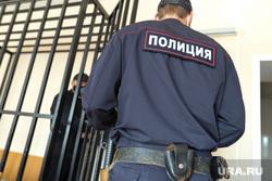 Судебное заседание по уголовному делу бывшего вице- губернатора Сергея Пугина. Курган, полиция