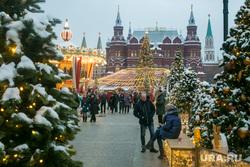 Новогодняя Москва. Москва, город москва, кремль, гим, новый год, иллюминация, манежная площадь, манежка, государственный исторический музей