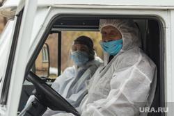 Клипарт. Магнитогорск, защитный костюм, медицинская маска, скорая помощь, защитная маска, фельдшер