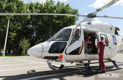 Вертолет санитарной авиации. Медицина катастроф. Челябинск, вертолет, врач, санитарная авиация